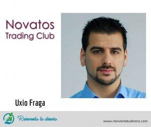 Trader profesional Uxio Fraga