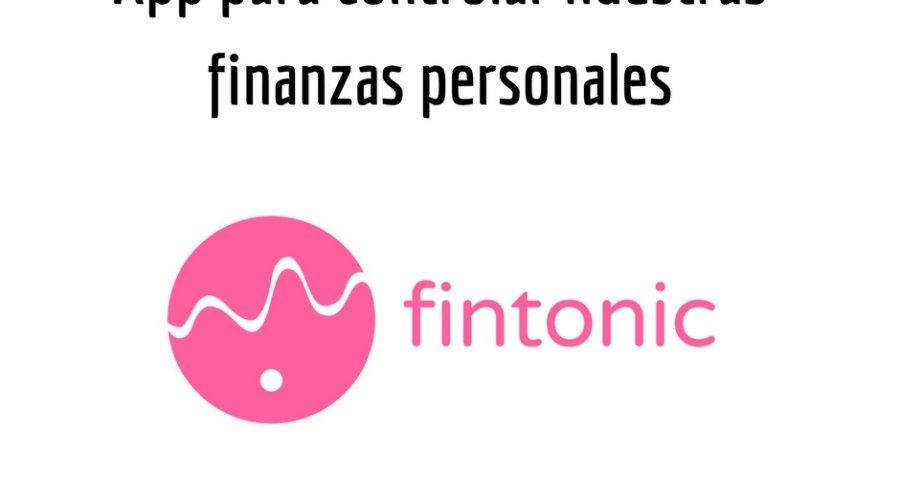 App finanzas personales (I): Fintonic